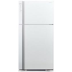 Combina frigorifica Hitachi R-V610PRU7(BSL), No Frost, A++, 510L, inaltime 176 cm, Argintiu