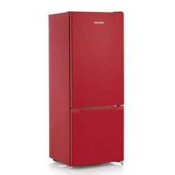Combina frigorifica SEVERIN KGK 8971, clasa A ++, 144 cm, 173 kWh / an , frigider 154 L, congelator 52 L, Low Frost, negru