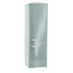 Combina frigorifica Exquisit RKGC 250 / 70-16 A ++ GRAU, Clasa A++, Volum net 244L, No Frost, Gri