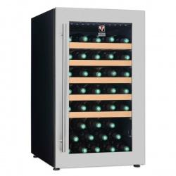 Vitrina vinuri Tecfrigo Sommelier 40/1 Plus, capacitate 120 l, temperatura +5/+20, negru