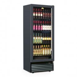 Vitrina de vinuri Tecfrigo CAVE 500 2TV, 500l, 112 Sticle, 2 zone de temperatura +5+11 /+14+18°C, negru