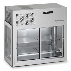 Vitrina frigorifica Tecfrigo DOUGLAS 10, capacitate 200 L, temperatura +4/+10º C, argintiu