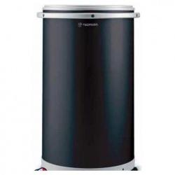 Vitrina frigorifica bauturi Tecfrigo CC 455, forma rotunda, capacitate 45 L, temperatura + 2 / + 8 ° C, negru