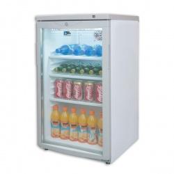 Vitrina frigorifica bauturi Tecfrigo C 84 G, capacitate 85 L, temperatura +4/+12º C, alb