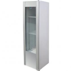 Vitrina frigorifica Tecfrigo VB 305, capacitate 290 L, temperatura +2º C +8º C, Argintiu