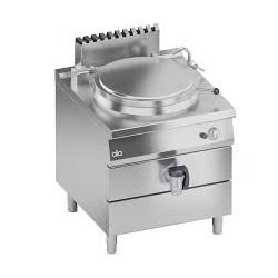Marmita pe gaz , Ata Italia K4GPIS1011A, 100 litri, încălzire indirecta