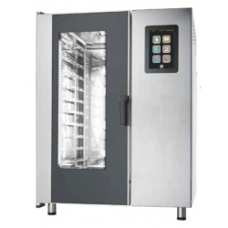 Cuptor electric cu convectie Primax Italia, BTE120, pentru gastronomie Nexo, 20 tavi GN 1/1 cu BOILER, touch screen