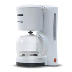 Filtru de cafea Fagor CG-512, 870 W, 1.25 litri, Alb