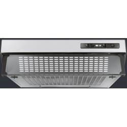 Hota incorporabila Ardesia BASIC 2 60 X, 60 cm, 2 motor, 310 m3/h, inox