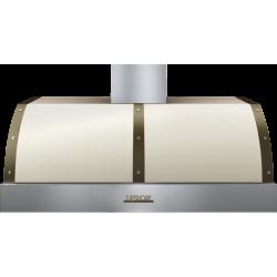 Hota perete Superiore HD48PBTCB DECO 48 ,1 motor, 900 m3/h, cotrol electronic crem mat cu finisaje crom