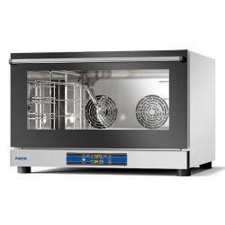 Cuptor electric cu convectie Piron CABATO, PF8004D combisteamer, control digital, umidificare 4 tavi 600x400 GN1/1