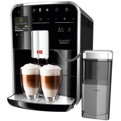 Espressor automat Melitta Caffeo Barista TS, Sistem Cappuccino, Autocuratare, 15 Bar, 1.8 l, Carafa lapte, Argintiu