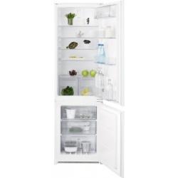 Combina frigorifica incorporabila Electrolux ENN2812AOW, 277 litri, Clasa A ++, H 178