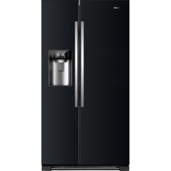 Combina frigorifica Side by Side Haier HRF-630IB7, 555 l, No Frost, clasa A++, Negru