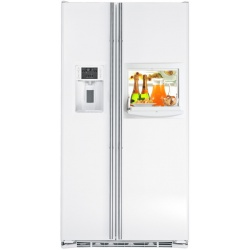 """Side by side IOMABE Luxury """"K"""" Series ORE24CHFWW, clasa A+, 572 l, No Frost, Alb"""