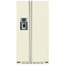 "Side by side incorporabil IOMABE Exclusive ""V"" Series ORE24VGF3C, clasa A+, 528 l, No Frost, Crem"