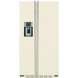"""Side by side IOMABE Luxury """"K"""" Series ORE24CGF8C, clasa A+, 572 l, No Frost, Crem"""