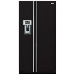 """Side by side incorporabil IOMABE Luxury """"K"""" Series ORE24CGF3B, clasa A+, 572 l, No Frost, Negru"""