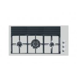 Plita incorporabila Foster S4000 7285032 , instalare FT, gaz, 92.5 cm, 3 arzatoare, aprindere electrica, siguranta gaz, inox