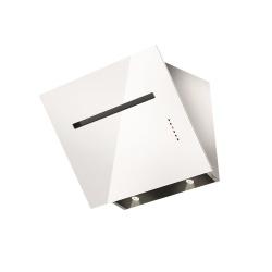 Hota decorativa Fulgor Milano FLH 800 TC WH, 80 cm, touch control, sticla alba