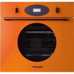 Cuptor incorporabil Bompani Color Me BO249CB/E, electric, multifunctional, 60cm, 54l, Portocaliu