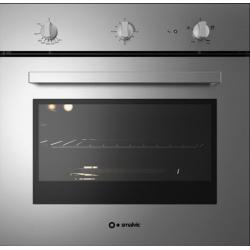 Cuptor gaz incorporabil Smalvic BASIC FI-64GETC, 60 cm, 64l, grill electric, inox