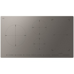 Plita incorporabila Fulgor Milano, FSH 905 ID TS MAT, 90 cm, plita inductie, 5 zone gatit, booster, sticla gri mata