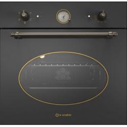 Cuptor electric incorporabil Smalvic COUNTRY FI-64WTR, 60 cm, 64l, 5 functii, negru antracit