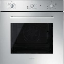 Cuptor incorporabil Smeg Elementi SF465AV, electric, multifunctional, 60cm,avena